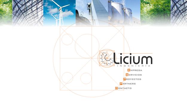 Sitio Web Licium Ingeniería