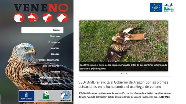 Sitio web venenono.org